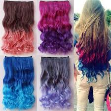 best extensions best sales colorful colored hair products clip on in hair