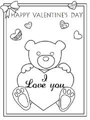 free printable color card valentine cards create print