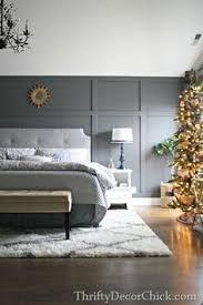 Grey Walls Bedroom How To Create A Board And Batten Accent Wall Batten Dark Grey