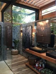 outdoor bathroom ideas outdoor bathroom designs bring nature into your bathroom granite