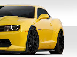 z camaro duraflex 109819 stingray z look front fender flares 2 fit