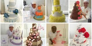 colorful wedding cake finals www internationalculinarycenter com