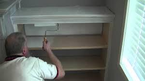 how to prime raw wood bookshelves youtube