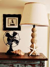 Seaside Themed Bathroom Accessories How To Make A Nautical Themed Lamp Hgtv