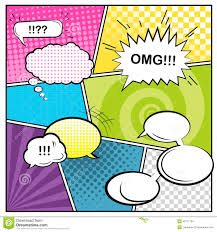 comics stock vector image 43171704