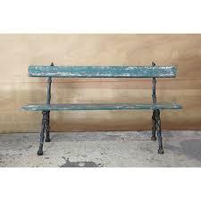 creative co op secret garden wood and metal bench reviews wayfair