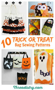 halloween bags for trick or treating harrowing halloween trick or treat bag sewing patterns