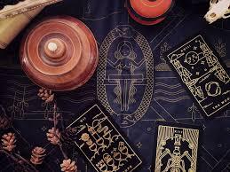 map of the universe altar cloth tarot altars and tarot cards