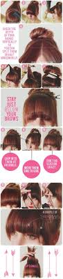 horseshoe haircut 12 diy hair hacks to fix all of your bang problems gurl com