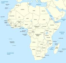 Africa Map Test by File Africa Administrative Divisions De Monochrome Svg