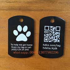laser engraved dog tags 1pc custom dog tag stainless steel id tag laser engraving text on