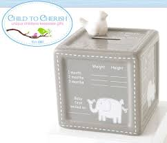 keepsake piggy bank a block to grow on keepsake bank from child to cherish another