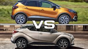 renault suv 2017 2018 renault captur vs 2017 toyota c hr youtube
