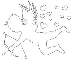 coloring pages simple cupid drawing simple cupid drawing u201a simple