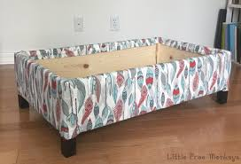diy upholstered storage ottoman anika u0027s diy life