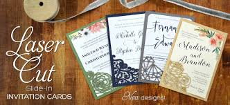 Single Card Wedding Invitations Cards U0026 Pockets Diy Wedding Invitation Supplies