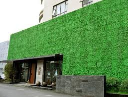 green wall decor artificial plant hedges for wall decor