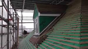 Timber Dormer Construction K Rend Dormer Beading U0026 Metal Lathing Youtube