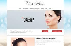 Website For Makeup Artist Website Designed For Carla Hilton U2013 Uk Website Workshop Blog