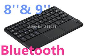 bluetooth keyboard for android android windows bluetooth keyboard with touchpad for 8 or 9