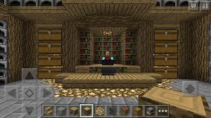 this is a minecraft pe storage room minecraft pe ideas