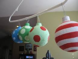 how to make dr seuss ornaments to go on garland to decorate