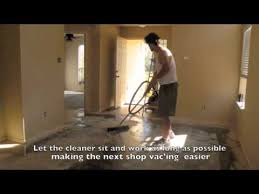 How To Stain A Concrete Basement Floor by How To Stain Concrete Floors Youtube