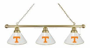 Billiard Light Fixtures University Of Tennessee Logo Billiard Light