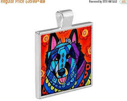 belgian sheepdog art sheepdog jewelry etsy