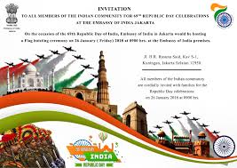 Flag If India 69th Republic Day Of India Flag Hoisting Ceremony In Jakarta