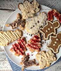 holiday cookies paleo forest and fauna