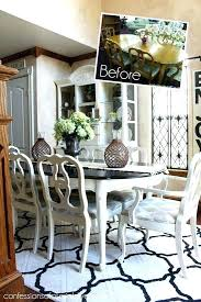 pictures of painted dining room tables painted dining chairs lanabates com