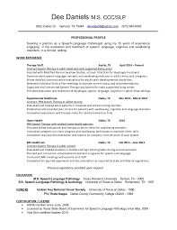 Sample Speech Pathology Resume by 2 Audiology Clinical Assistant Lauren Rollo 1207 Northridge Oval