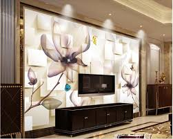 compare prices on wall mural prints online shopping buy low price wall mural photo wallpaper 3d stereoscopic transparent fashion flower box 3d murals wallpaper for living room