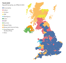2016 Election Map Uk General Election 2015 Map Of Britain Constituency