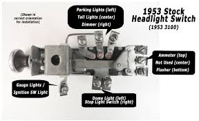1968 ford headlight switch wiring diagram wiring diagram simonand