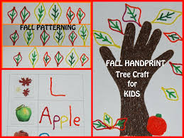 wikki stix fall handprint craft and playful learning activities