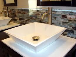 backsplash ideas for bathroom bathroom sinks ideas crafts home