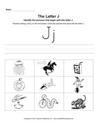 all worksheets letter j phonics worksheets printable