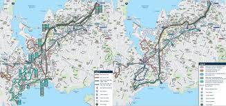 Green Bay Map Titirangi And Green Bay Bus Network Changes Greater Auckland