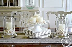 MINUTE SUMMER DECORATING StoneGable - Dining room table decorations for summer