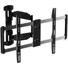 full motion tv wall mount 60 inch retractable tv wall mounts av accessories the home depot