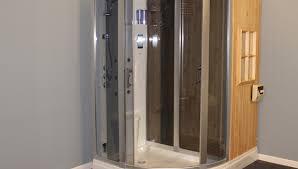 shower satisfying steam shower sauna enclosure with whirlpool