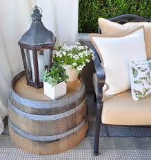 Barrel Side Table 36 Creative Diy Ideas To Upcycle Old Wine Barrels