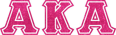 pink glitter car vinyl decal aka greek letters glitter