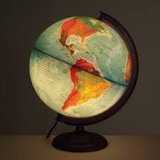 earth globes that light up buy light up physical political globe tts international