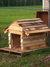 astounding dog house made from pallets 19 for your decor