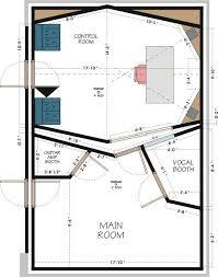 recording studio floor plan home recording studio plans homes floor plans