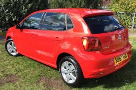 volkswagen red find a used red vw polo diesel hatchback 1 4 tdi 75 match edition