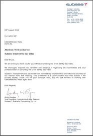 endorsement letter from subsea 7 u2014 gingerbeard media
